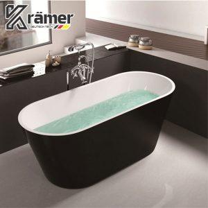 Bồn Tắm Nằm Nhựa Acrylics Dung Tích 350L Kramer KBT-3004