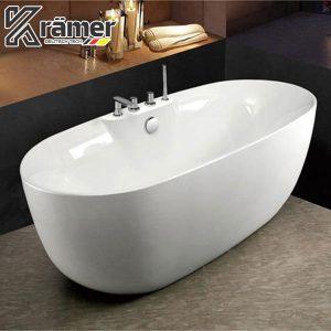Bồn Tắm Nằm Nhựa Acrylics Dung Tích 350L Kramer KBT-3176