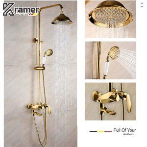 Sen Tắm Cây Nóng Lạnh Mạ Vàng Kramer KS-0111HJ