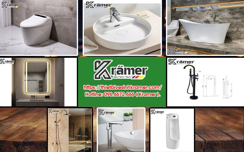 Kramer - Hãng Thiết Bị Vệ Sinh Cao Cấp