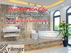Mua Bán Bồn Cầu 1 Khối Tại Quận Thanh Xuân
